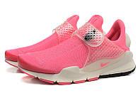 Летние женские кроссовки Nike Sock Dart SP розовые
