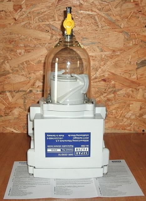 Фильтр сепаратор Сепар-2000/18