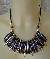 Ожерелье женское колье модное с подвесками ювелирная бижутерия 5450