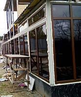 """Ламинированные окна с установкой Киев и пригород - компания """"Окна Маркет"""""""