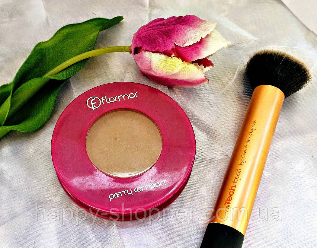 Пудра Flormar Pretty Compact Powder