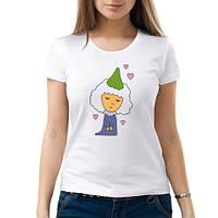 Женская футболка «Дама сердца»