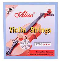 Струны для скрипки Alice