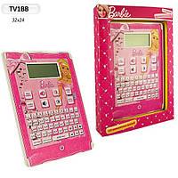 Планшет TV1BB Barbie Ameniza, 120 учебных программ, в короб. 32*24*4,5