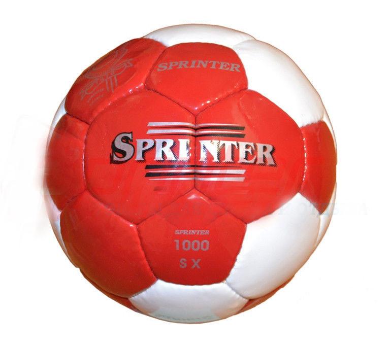 Мяч футбольный SPRINTER красно-белый №5