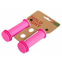 Грипсы Green Cycle GC-G96 102mm детские, розовые