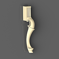 Ножка 44 для стола - 760х166х130 мм