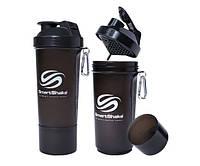 SmartShake Slim NEON Gunsmoke 500 ml