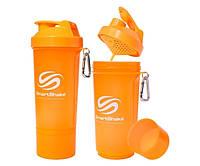SmartShake Slim NEON Orange 500 ml