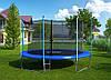 Батут с внутренней сеткой и лестницей 404 см (13 ft) бренда Hero Trampoline, фото 6