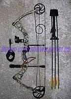 Лук блочный Diamond Core 30-70 Lbs Bowtech США с полным обвесом + Релиз + Кивер + 3 стрелы карбон
