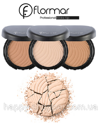 Пудра для лица Flormar Wet & Dry Compact Powder