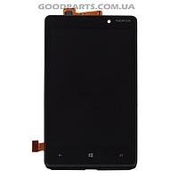 Дисплей с тачскрином для Nokia 820 Lumia (Оригинал)