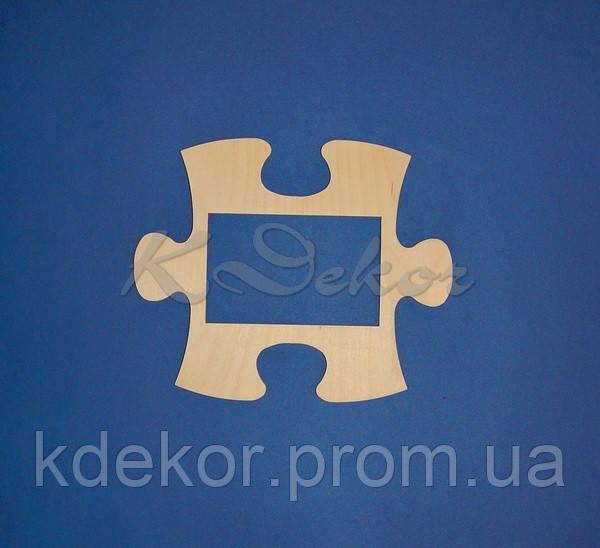 Рамка-пазл (размер под фото 10х15см.)