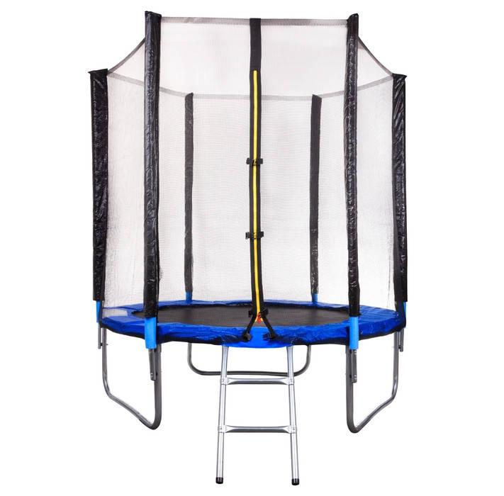 Батут с сеткой и лестницей 183 см (6 ft) бренда Flimboo