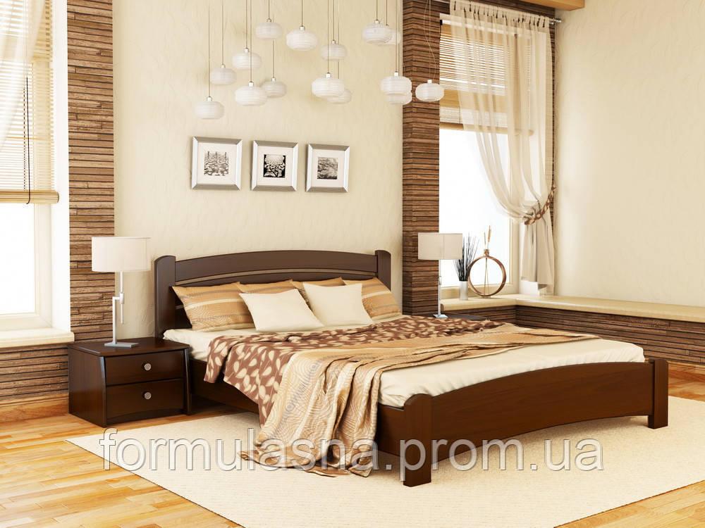 Кровать деревянная Венеция Люкс Эстелла 160х200, 101, щит