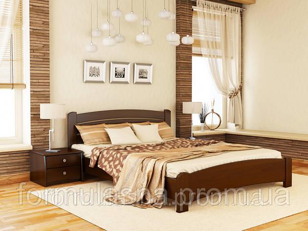 Кровать деревянная Венеция Люкс Эстелла 160х200, 101, щит, фото 2
