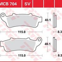 Victory/Honda тормозных колодок комплект TRW / Lucas MCB704SV