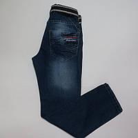 Подростковые джинсы с ремнём для мальчиков Турция 12 лет(152р)