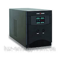 ИБП LogicPower LPM-PSW-500VA 12В с правильной синусоидой для котла,