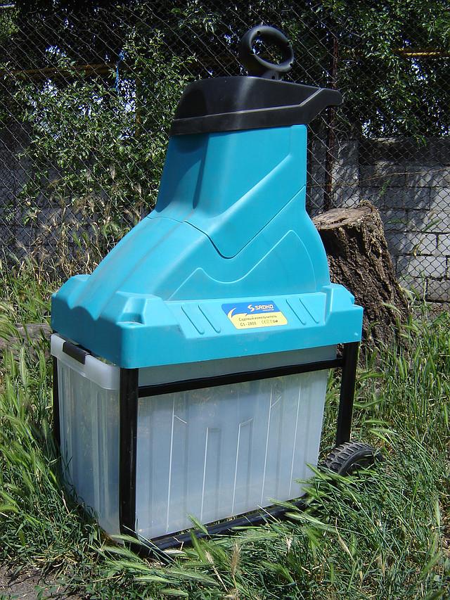 Электрический измельчитель веток Sadko GS-2800 фото 9
