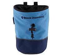 Магнезница BLACK DIAMOND HARD Mojo Repo Chalk Bag Blue/Blue p.M/L