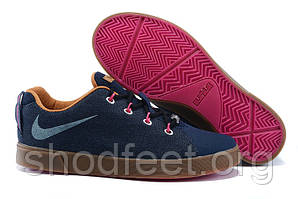 Мужские кроссовки Nike Lebron 12 Lifestyle NSW Low Denim