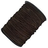 Резинка круглая 2мм коричневая (150м/моток)