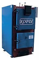 Промышленный отопительный котел на твердом топливе Корди КОТВ 400 Ф (футерованная топка)