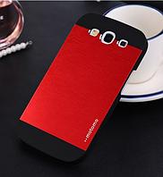 """Красный чехол """"Motomo"""" для Samsung GalaxyS3 (i9300)"""