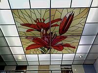 Декоративная вставка для потолка