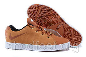 Мужские кроссовки Nike Lebron 12 NSW Lifestyle Low Brown