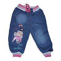 """Детские джинсовые брюки """"Selfie"""" для девочек от 1 до 4 лет"""