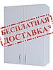 Шкаф навесной для ванной комнаты Базис 60-02 ПИК