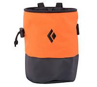 Магнезница BLACK DIAMOND HARD Mojo Zip Chalk Bag Orange р.M/L