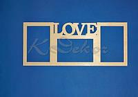 """Рамка """"LOVE"""""""