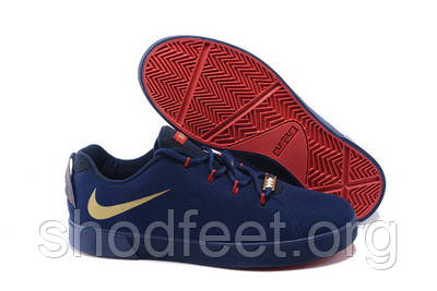 Мужские кроссовки Nike Lebron 12 NSW Lifestyle Low Blue