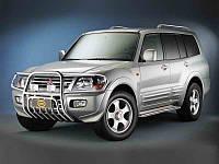 Подножки для Mitsubishi Pajero 2000-2007