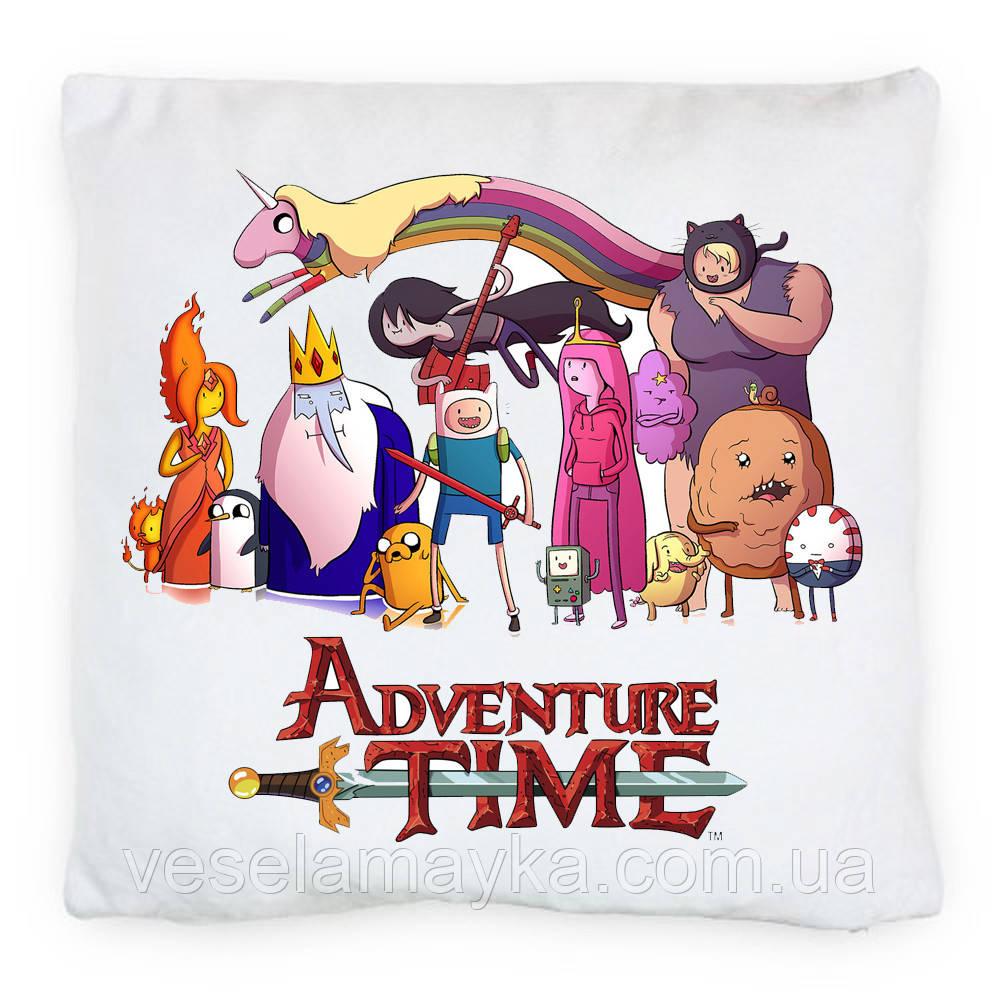 """Подушка """"Время приключений"""" (Adventure time)"""