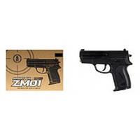 Пистолет  металлический  ZM 01