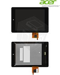 Дисплейный модуль (дисплей + сенсор) для Acer Iconia Tab A1-810, A1-811, черный, оригинал