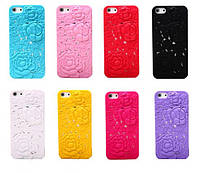 3D Roses Back Cover for iPhone 6 Rose