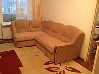 Перетяжка кожаных угловых диванов , фото 1