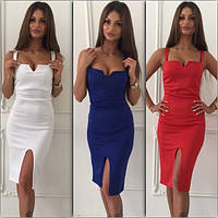 Женское эффектное платье (5 цветов)