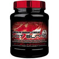 Scitec Nutrition Энергетик Scitec Nutrition Hot Blood 3.0, 300 г (guarana)