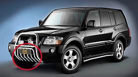 Захист піддону для Mitsubishi Pajero 2000р.в.-2007 р. в