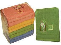 Махровое полотенце банное (Роза) 70х140
