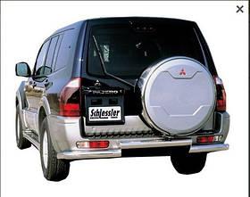 Захист задня Mitsubishi Pajero 2000-2007