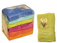 Махровое полотенце для лица (Калла) 50х90 см