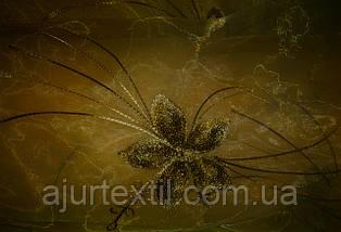 """Тюль органза """"Хризолит"""" персик, фото 3"""